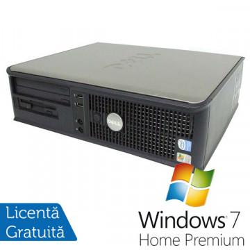Dell GX620 Desktop, Pentium 4, 3.2Ghz, 2Gb DDR2, 80Gb SATA, DVD-ROM + Win 7 Home Premium Calculatoare Refurbished