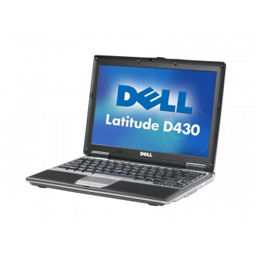 DELL Latitude D430 Notebook,  Intel Core 2 Duo U7600, 1.2ghz, 1536Mb DDR2,60gb HDD,combo Laptopuri Second Hand