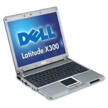 Dell Latitude X300, Pentium Mobile 1.2 Ghz, 640 Mb RAM, 60 Gb HDD, 12.1 inci + Docking station Laptopuri Second Hand