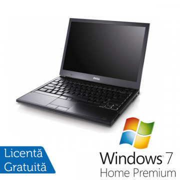 Dell Notebook Latitude E4300, Core 2 Duo SP9400, 2.4Ghz, 160Gb, 4096Mb DDR3, DVD-RW + Windows 7 Premium Laptopuri Refurbished