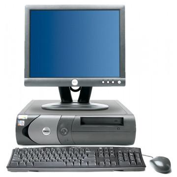 DELL OptiPlex 170L, Celeron 2.66Ghz, 512Mb DDR, 40Gb HDD, DVD-ROM + Monitor 15 inci LCD