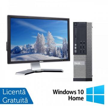 DELL OptiPlex 3010, SFF, Intel Core i5-3450 3.10 GHz, 4GB DDR3, 250GB SATA, DVD-RW + Windows 10 Home + Monitor DELL 2208WFP
