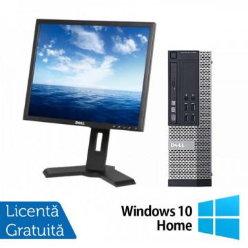 DELL OptiPlex 3010, SFF, Intel Core i5-3450 3.10 GHz, 4GB DDR3, 250GB SATA, DVD-RW + Windows 10 Home + Monitor DELL P190ST