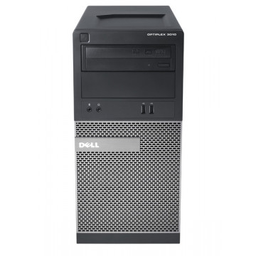 Dell OptiPlex 3010 Tower, Intel Core i3-3245 3.40Ghz, 4GB DDR3, 500GB SATA, DVD-RW Calculatoare Second Hand