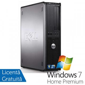 Dell Optiplex 380 SFF, Intel Celeron 450, 2.2Ghz, 2Gb DDR3, 160Gb HDD, DVD-RW + Win 7 Premium Calculatoare Second Hand
