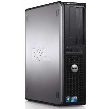 Dell Optiplex 380 SFF, Intel Core 2 Quad Q6600, 2.4Ghz, 4Gb DDR3, 250Gb SATA, DVD-RW Calculatoare Second Hand