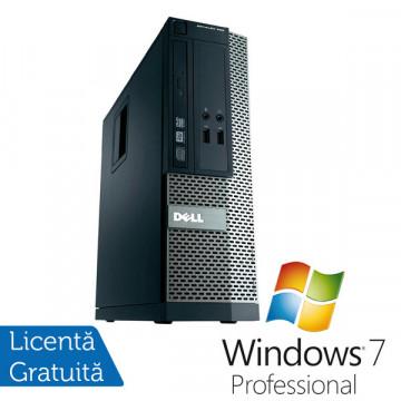 Dell OptiPlex 390, Intel Core i3-2100, 3.1Ghz, 4Gb DDR3, 250Gb HDD, DVD-ROM, HDMI + Windows 7 Professional Calculatoare Refurbished
