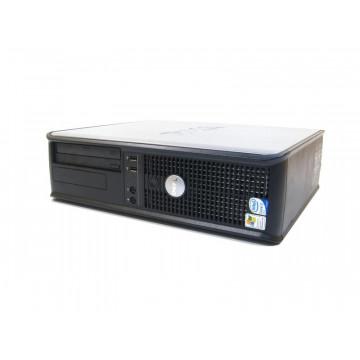 Dell Optiplex 745, Intel Celeron D 352, 3.20 Ghz, 1gb RAM, 80gb HDD, DVD-ROM Calculatoare Second Hand