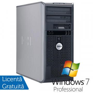 Dell Optiplex 745 Tower, Intel Core 2 Duo E6600, 2.4Ghz, 2Gb DDR2, 160Gb SATA, DVD-RW + Win 7 Professional Calculatoare Refurbished