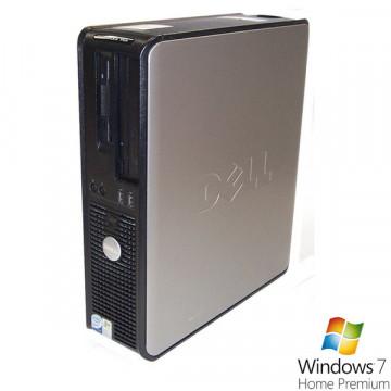Dell Optiplex 755 Desktop, Dual Core E2220, 2.4Ghz, 2Gb, 80Gb, DVD-ROM + Win 7 Home Calculatoare Second Hand