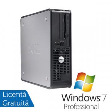 Dell Optiplex 755 SFF, Intel Core 2 Duo E6550, 2.3Ghz, 2Gb DDR2, 80Gb HDD, DVD-RW + Windows 7 Professional Calculatoare Refurbished