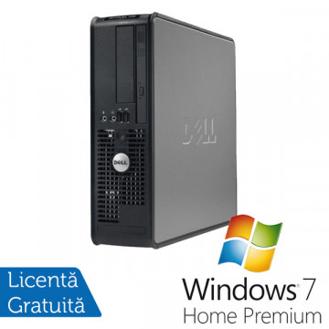 Dell Optiplex 760, Intel Core 2 Duo E8400, 3.0Ghz, 2Gb, 80Gb SATA2, Combo + Win 7 Premium Calculatoare Second Hand