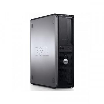 Dell Optiplex 760 SFF, Intel Core 2 Quad Q6600, 2.4Ghz, 4Gb DDR2, 160Gb, DVD-RW Calculatoare Second Hand