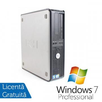 Dell OptiPlex 780 Desktop, Intel Core 2 Duo E8400, 3.0Ghz, 3Gb DDR3, 160Gb HDD, DVD-RW + Windows 7 Professional Calculatoare Refurbished