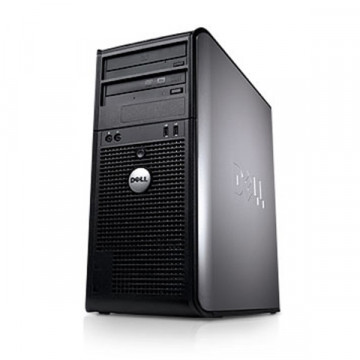 Dell Optiplex 780 Mini Tower, Intel Core 2 Duo E7500 2.93Ghz, 4Gb DDR3, 80Gb, DVD-RW Calculatoare Second Hand