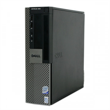 Dell OptiPlex 960 SFF, Intel Core 2 Duo E8400, 3.0Ghz, 4Gb DDR2, 250Gb HDD, DVD-ROM Calculatoare Second Hand