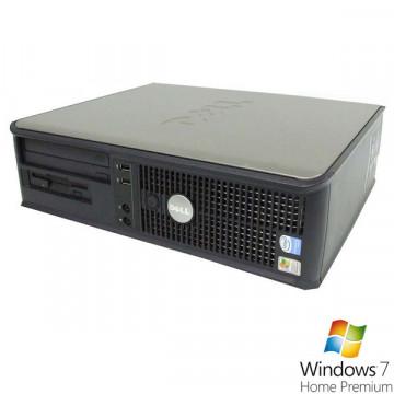 Dell Optiplex GX520 Desktop, Pentium Dual Core 2.8Ghz, 1Gb DDR2, 80Gb, Combo + Win 7 Premium Calculatoare Second Hand