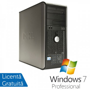 Dell Optiplex GX760, Intel Core 2 Duo E8400 3.0Ghz, 4Gb DDR2, 160Gb HDD, DVD-ROM + Windows 7 Professional