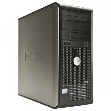 Dell Optiplex GX760, Intel Dual Core E2220 2.4Ghz, 2Gb DDR2, 80Gb HDD, DVD-ROM Calculatoare Second Hand