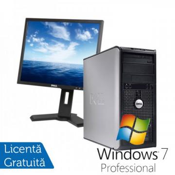 DELL Optiplex GX760, Tower, Intel Core 2 Duo E8400 3.0Ghz, 4 GB DDR2, 160GB SATA, DVD-ROM + Windows 7 Professional + Monitor DELL P190ST