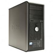 Dell Optiplex GX760 Tower, Intel Core 2 Duo E8400 3.0Ghz, 4Gb DDR2, 160Gb HDD, DVD-RW Calculatoare Second Hand