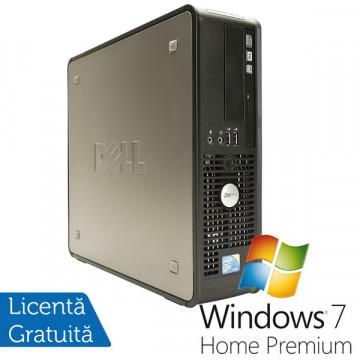 Dell OptiPlex GX780, Core 2 Duo E8400, 3.0Ghz, 4Gb DDR3, 160Gb, DVD-ROM + Win 7 Premium Calculatoare Refurbished