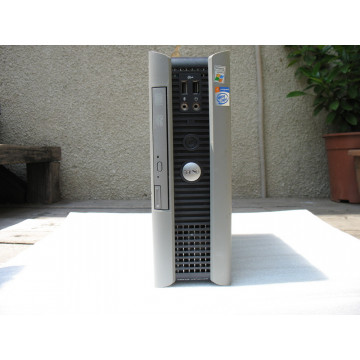 DELL Optiplex SX280 ULTRA SFF Intel Pentium 4 HT 3.0GHz / 1204 MB / 80GB / DVD-ROM / SFF Calculatoare Second Hand