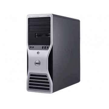Dell Precision 490 Workstation, Intel Xeon Dual Core 5160, 3.00Ghz, 4Gb, 73Gb SAS, Raid 1, 5, 10, 50 Calculatoare Second Hand