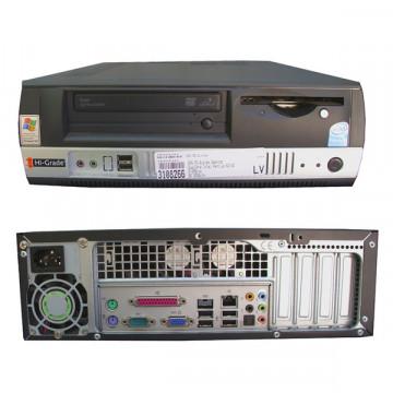 Desktop Intel Celeron D 347, 3.06Ghz, 512Gb DDR, 80Gb SATA, DVD-ROM Calculatoare Second Hand