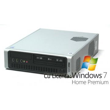 Desktop Maxdata, Core 2 Duo E6320, 1.86Ghz, 2Gb, 160Gb HDD, DVD-ROM + Win 7 Home Calculatoare Second Hand