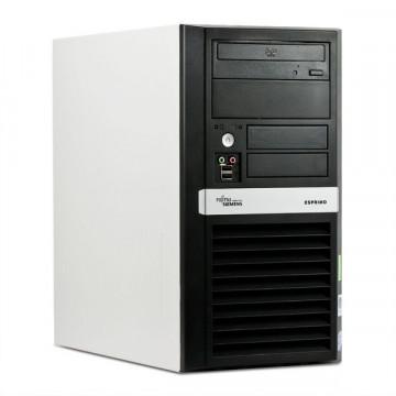 Fujitsu Esprimo E3510, Core 2 Duo E8400, 3Ghz, 2Gb RAM, 160 HDD, DVD-RW Calculatoare Second Hand