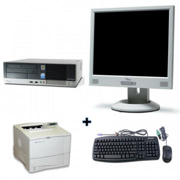 Fujitsu Esprimo E5700 + Monitor lcd 15 + Imprimanta Laser