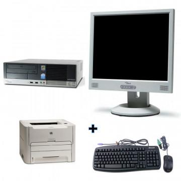 Fujitsu Esprimo E5700 + Monitor lcd 17 + Imprimanta Laser Hp 1160