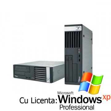 Fujitsu Esprimo E5720, Core 2 Duo E4600, 2.4Ghz, 2Gb, 80Gb + Win XP Pro Calculatoare Second Hand