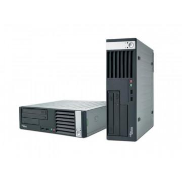 Fujitsu Esprimo E5925 SFF, Intel Core 2 duo E6550, 2.33ghz, 1Gb DDR2, 160Gb S-ata, DVD Calculatoare Second Hand