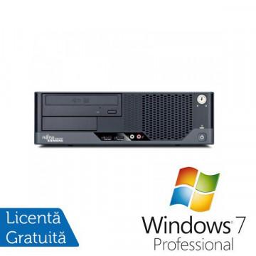 Fujitsu Esprimo E7935 SFF, Intel Core 2 Duo E8400 3.0Ghz, 4Gb DDR2, 160Gb HDD, DVD-RW + Windows 7 Professional
