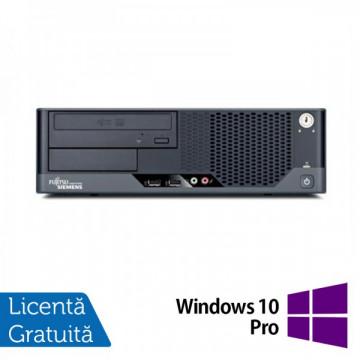Fujitsu Esprimo E7936, Intel Core 2 Quad Q9505 2.83GHz, 4Gb DDR3, 250Gb HDD, DVD-ROM + Windows 10 Pro