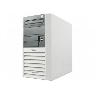 Fujitsu Esprimo P5600, AMD Sempron 3000+, 1.8Ghz, 1Gb, 40Gb HDD, DVD-ROM Calculatoare Second Hand