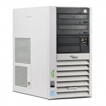 Fujitsu Esprimo P5905, Pentium 4 630 HT, 3.0 Ghz, 1Gb, 80Gb, DVD-ROM Calculatoare Second Hand