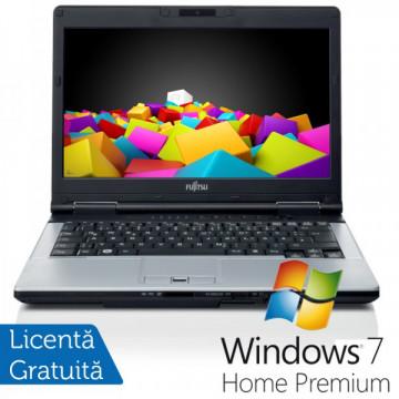 Fujitsu LIFEBOOK S751 Notebook, Intel Core i5-2450M 2.5Ghz, 4Gb DDR3, 320Gb, DVD-RW, Bluetooth, Wi-fi + Windows 7 Home Premium Laptopuri Refurbished