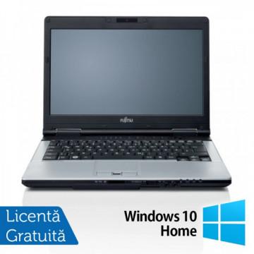 Fujitsu LIFEBOOK S751 Notebook, Intel Core i5-2520M 2.5Ghz, 8Gb DDR3, 500Gb, DVD-RW, Bluetooth, Wi-fi, 14 inch + Windows 10 Home Laptopuri Refurbished