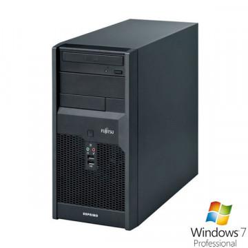 Fujitsu P3521, Pentium Dual Core E5500, 2.8Ghz, 2Gb DDR3, 320Gb SATA, DVD-RW + Win 7 Pro Calculatoare Second Hand