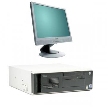 Fujitsu Scenic N300 Intel P4, 2660mhz, 512 Mb RAM, 80 GB HDD + Monitor  LCD 17 inci