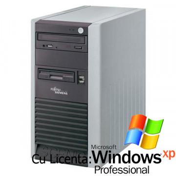 Fujitsu Scenic P300 Intel Celeron 2.6 GHZ, 80 Gb, 1024 MB, DVD-ROM + Win Xp Pro Calculatoare Second Hand