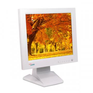 Fujitsu Siemens 4312 FA, LCD 17 INCI, VGA, DVI, Nu are picior original Monitoare Second Hand