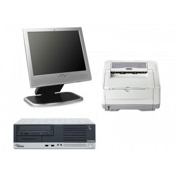 Fujitsu Siemens E5600, AMD Sempron 3000+,  1.8ghz + Monitor HP 1530 + Imprimanta OKi B4400