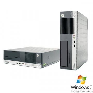 Fujitsu Siemens E5625, AMD Athlon 64 x 2 Dual Core 4400+, 2.3Ghz, 3Gb, 160Gb, DVD-RW + Win 7 Premium Calculatoare Second Hand