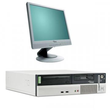 Fujitsu Siemens E600 Intel P4 HT, 3.0 ghz, Monitor 19 LCD