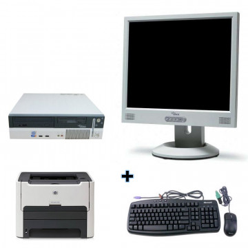 Fujitsu Siemens E600 + Monitor lcd 17 + Imprimanta Laser HP 1160