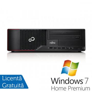 Fujitsu Siemens E700, Intel Core i3-2100, 3.1Ghz, 4Gb DDR3, 320Gb HDD, DVD-ROM + Windows 7 Premium Calculatoare Refurbished